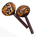 Rattle, Andes, Peru, Fair Trade, Maracas, Gourd, Handcarved