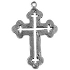 Milagro Cross, Faith, Christian, Pendant, High, Concepts, Leadfree, Pewter, Safepewter