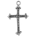 Mexican Cross, Faith, Christian, Pendant, High, Concepts, Leadfree, Pewter, Safepewter