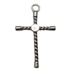 Wrapped Cross, Faith, Christian, Pendant, High, Concepts, Leadfree, Pewter, Safepewter