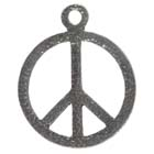 Peace, Pendant,  High Concepts, Leadfree, Pewter, Amulet