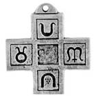Talisman, Seasons Cross, High Concepts, Leadfree, Pewter, Amulet