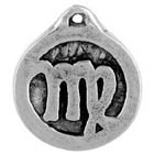 Astrology, Horoscope, Zodiac, Virgo, High Concepts, Leadfree, Pewter, Amulet