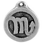 Astrology, Horoscope, Zodiac, Scorpio, High Concepts, Leadfree, Pewter, Amulet