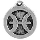 Astrology, Horoscope, Zodiac, Pisces, High Concepts, Leadfree, Pewter, Amulet