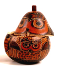 Andes, Peru, Fair Trade, Boxes, Box, Gourd, Owl, Handcarved