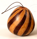 Ornaments, Andes, Peru, Fair Trade, Christmas, Holiday, Gourd, Carved, Handpainted