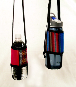 Andes, Peru, Fair Trade, Bottle, Holder, Multicolor,
