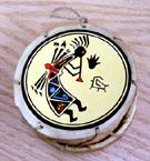 Drum, Andes, Peru, Fair Trade, Handpainted, Kokopeli