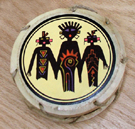Drum, Andes, Peru, Fair Trade, Handpainted, Spirits