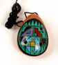 Andes, Peru, Fair Trade, Ocarina, Instrument, Clay, Handpainted