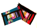 Andes, Peru, Fair Trade, Purse, Checkbook, Wallet, Multicolor,