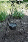 Cauldron, Pot, Cast Iron, Tripod, 1266, Ritual, Camping