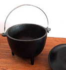 Cauldron, Pot, Cast Iron, Warrior Pot, 1318, Ritual, Camping
