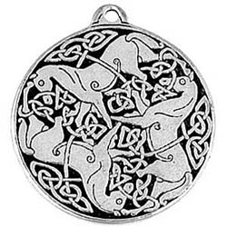 Protection, Strength, Pendant, Celtic Knot, High Concepts, Leadfree, Pewter, Amulet