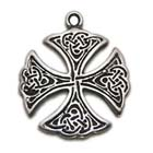 St. Patricks's Cross, Celtic Lands, High Concepts, Leadfree, Pewter, Amulet