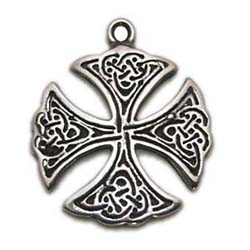 St. Patricks's Cross, Celtic Knots, High Concepts, Leadfree, Pewter, Amulet