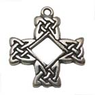 Druids Cross, Celtic Legends, High Concepts, Celtic Knot, Celtic Cross, Leadfree, Pewter, Amulet
