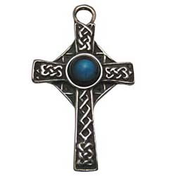 Celtic Cross, Celtic Knots, Pendant, Cross, High Concepts, Leadfree, Pewter, Amulet