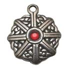King Arthur's Shield, Celtic Knots, High Concepts, Leadfree, Pewter, Amulet