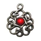 Banba Shield, Celtic Knots, High Concepts, Leadfree, Pewter, Amulet