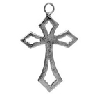 Little Cross, Faith, Christian, Pendant, High, Concepts, Leadfree, Pewter, Safepewter