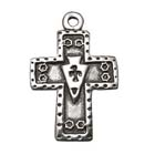 Southwestern Cross, Faith, Christian, Pendant, High, Concepts, Leadfree, Pewter, Safepewter
