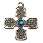 Celtic Cross, Celtic Lands, High Concepts, Leadfree, Pewter, Amulet