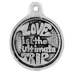 Peace, Love Ultimate, Pendant,  High Concepts, Leadfree, Pewter, Amulet