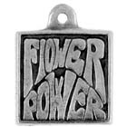 Peace, Flower Power, Pendant, High Concepts, Leadfree, Pewter, Amulet