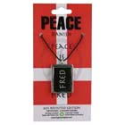 Peace, Pendant, Denmark, Flag, Danish, High Concepts, Leadfree, Pewter