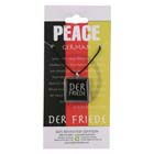 Peace, Pendant, Greece, Flag, German, High Concepts, Leadfree, Pewter