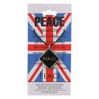 Peace, Pendant, Great Britain, Flag, UK, High Concepts, Leadfree, Pewter