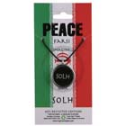 Peace, Pendant, Iran, Flag, Farsi, High Concepts, Leadfree, Pewter