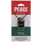 Peace, Paz, Pendant, Mexico, Flag, SpanishRussian, High Concepts, Leadfree, Pewter