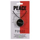 Peace, Pokoj, Pendant, Poland, Flag, Polish, High Concepts, Leadfree, Pewter