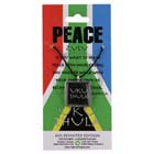 Peace, Pendant, South Africa, Flag, Zulu, High Concepts, Leadfree, Pewter