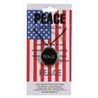 Peace, Pendant, United States, Flag, High Concepts, Leadfree, Pewter