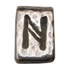 Astrology, Horoscope, Runes, Hagal, High Concepts, Leadfree, Pewter, Amulet