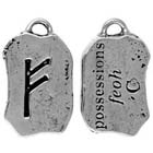 Runes, Pendant, Posessions, High Concepts, Leadfree, Pewter, Amulet