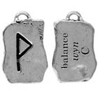 Runes, Pendant, Balance, Wyn, High Concepts, Leadfree, Pewter, Amulet