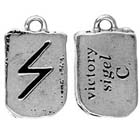 Runes, Pendant, Victory, Sigel, High Concepts, Leadfree, Pewter, Amulet