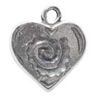 Heart, Southwest, Pendant, Native American, Sedona, High Concepts, Leadfree, Pewter, Amulet