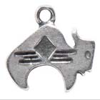 Buffalo, Southwest, Pendant, Native American, Sedona, High Concepts, Leadfree, Pewter, Amulet