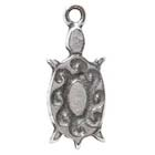 Tortoise, Turtle, Southwest, Pendant, Native American, Sedona, High Concepts, Leadfree, Pewter, Amulet