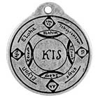 Talisman, Circle of Soloman, Pendant, High Concepts, Leadfree, Pewter, Amulet