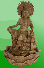 Kuan Yin flames, Fountain, Purple Moon,