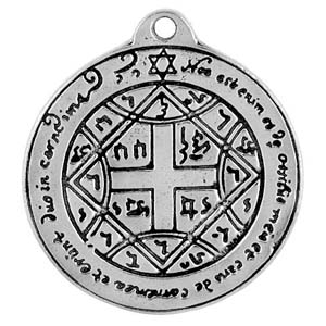 Talisman, Pentacle, Love, High Concepts, Leadfree, Pewter, Amulet