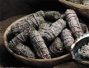 Sage, Incense, Native American