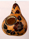 Andes, Peru, Fair Trade, Birdhouse, Gourd, assorted, Handcarved